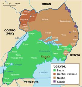 geography-uganda